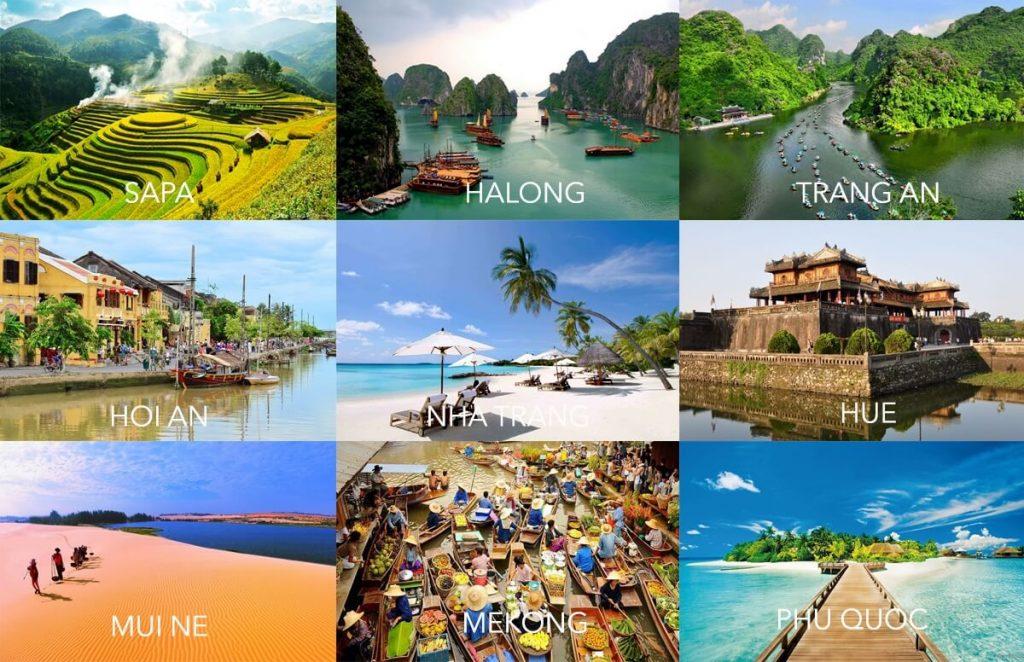 các địa điểm du lịch tết nguyên đán trong nước đẹp