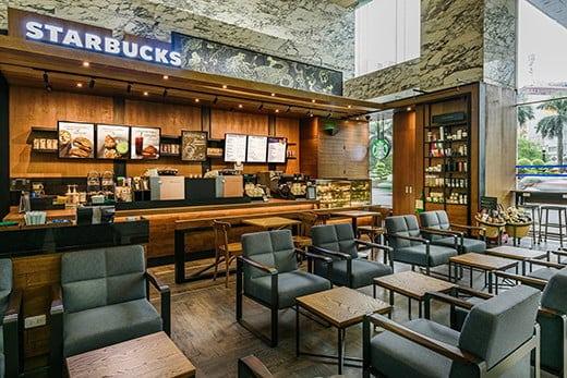 Starbuck cafe mở cửa xuyên tết 2020