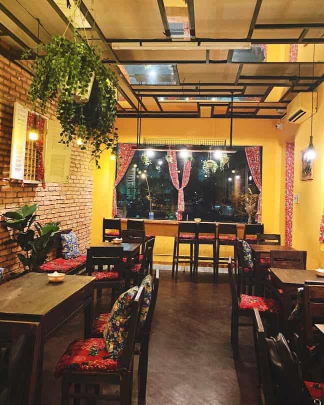 quán cafe xô bồ