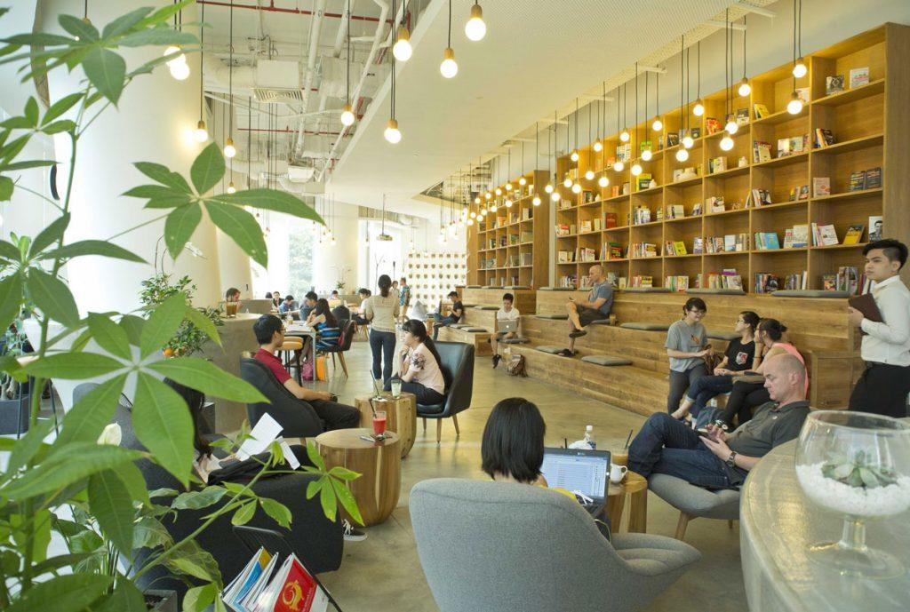cafe hcm quận 1 the nest
