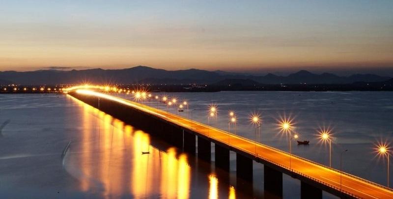 Cầu Thị Nại đã từng là cây cầu dài nhất Việt Nam