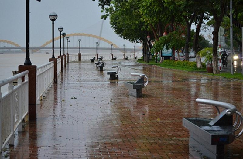 Đà Nẵng trong những ngày trời mưa