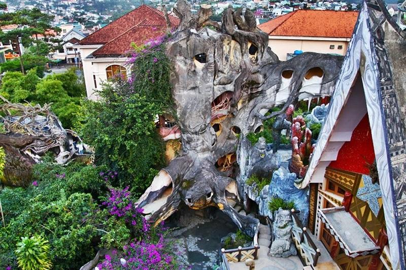 Biệt thự Hằng Nga nằm trongTOP 10 ngôi nhà kỳ lạ nhất thế giới