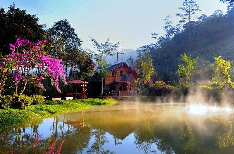 Ma Rừng Lữ Quán cảnh đẹp lung linh như trong khu vườn cổ tích