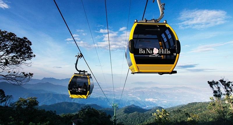 Trải nghiệm đi Cáp treo khi đi du lịchBà Nà Hills, Đà Nẵng