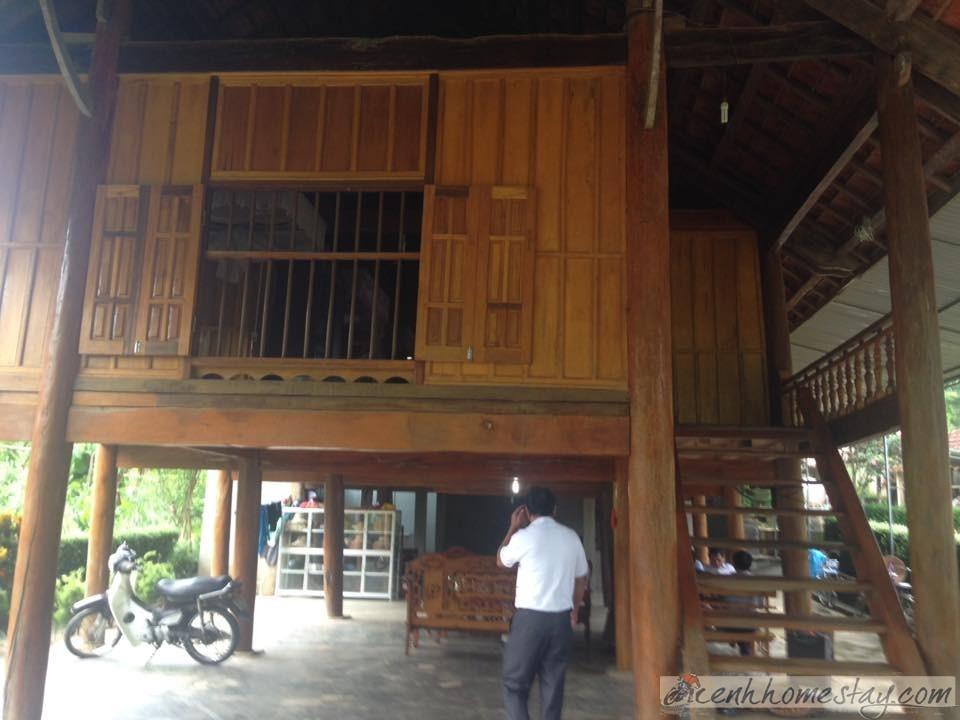 Nhà nghỉ tại Homestay thiết kế theo phong cách nhà sàn hiện đại