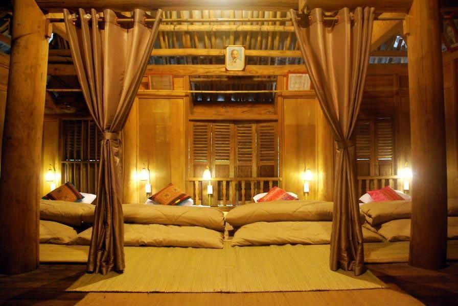Phòng ngủ được thiết kế rất tinh tế và sạch sẽ