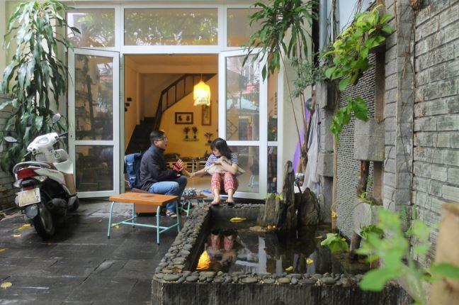 An Nhiên homestay tọa lạc tại một con hẻm nhỏ của phố Hoàng Diệu, Đà Nẵng